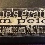 Roue's Graffiti Jom Peich.