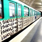 I Should Not Write On The Metro.